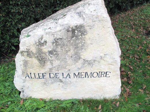 L'allée de la Mémoire