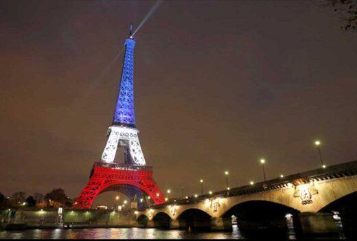 La Tour Eiffel - Bleu, Blanc, Rouge