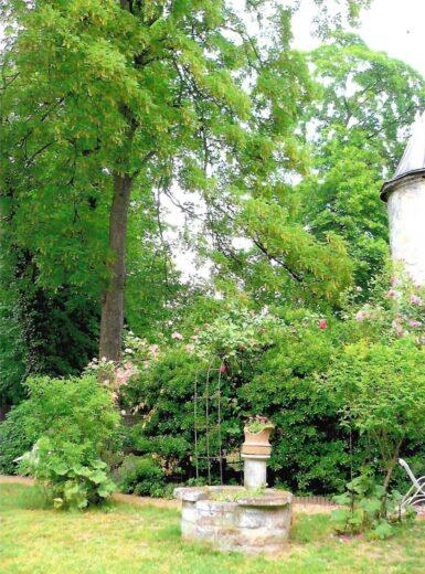 Vue du magnifique parc du peintre Loyeux