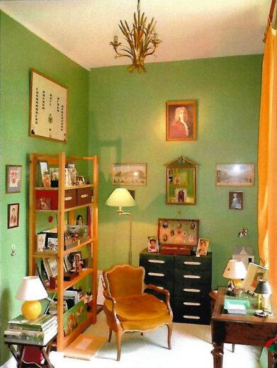 Le bureau de travail du peintre Loyeux