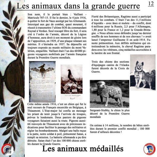 Les animaux les plus célèbres.