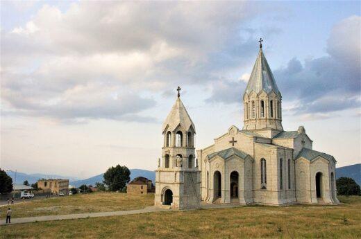 La cathédrale de Ghazanchetsots.
