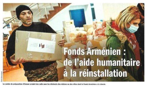 Fonds Arménien : de l'aide humanitaire à la réinstallation.