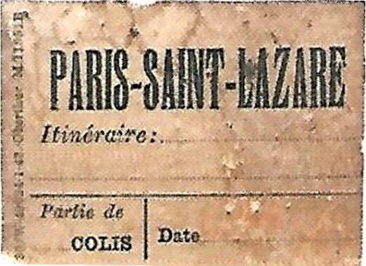 L'itinéraire de la valise de Charles Aznavour