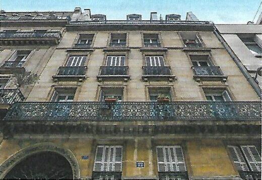 L'appartement des parents de Charles Aznavour.