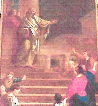 Le retable de l'église Saint Denys